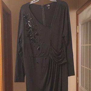 6th and Lane Little Black Bodycon Dress